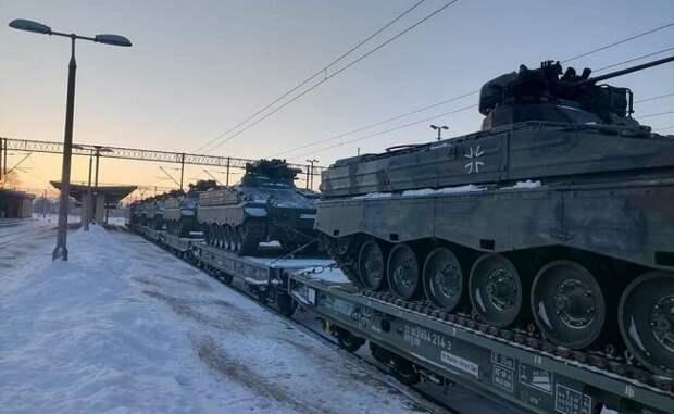 «Снова оккупация»: поляки оценили бронетехнику ФРГ, идущую всторону России