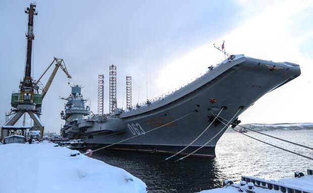 Авианосец «Адмирал Кузнецов» вернется на флот в 2023 году