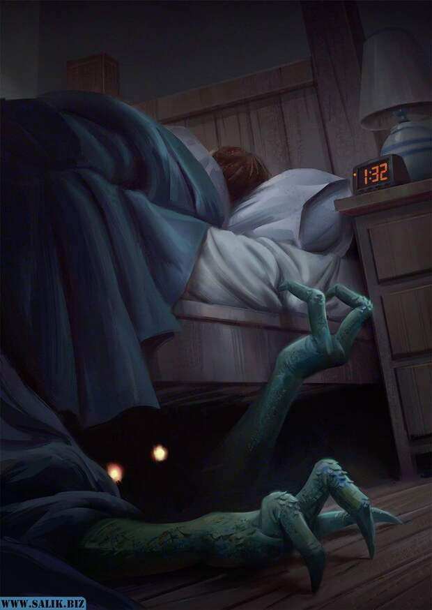 Невидимое существо в доме пугало ребенка