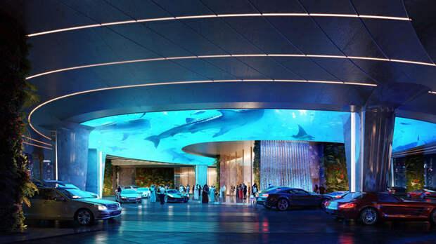 Гостиница с дождевыми лесами в Дубае