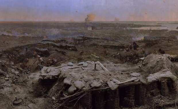 Хранившуюся в Москве панораму обороны Севастополя покажут к концу года