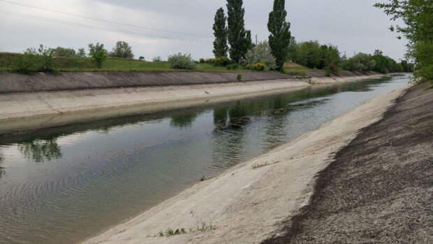 Наполнение водой Северо-Крымского канала вызвало ликование в Сети