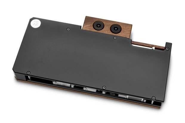 Водоблок EK Lignum для видеокарт NVIDIA GeForce RTX 3080/3090 получил отделку из дерева