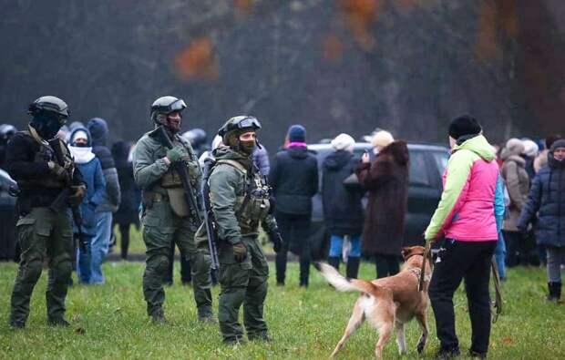 Задержания в Минске. 22.11.2020