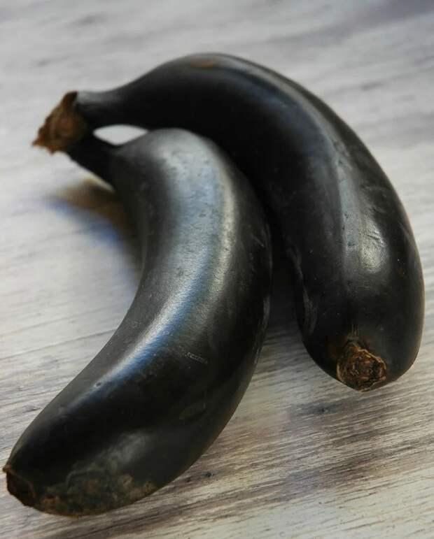 Черные бананы