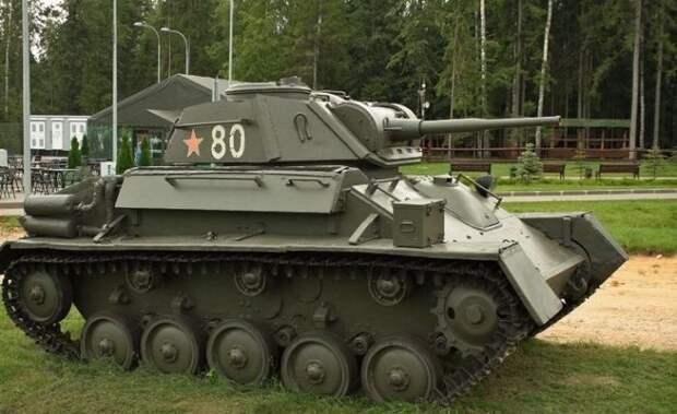 Последний легкий танк. /Фото: pinterest.ru.