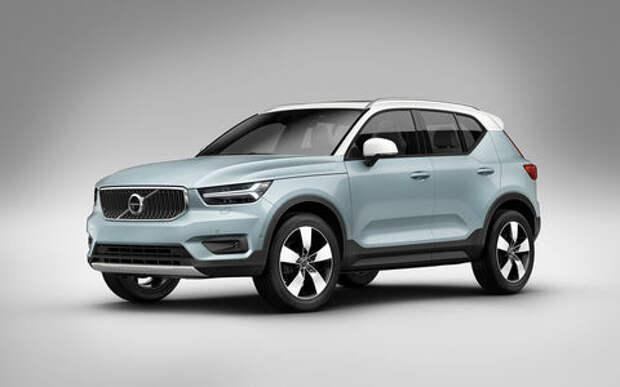 Volvo привезет в Россию дешевый вариант XC40