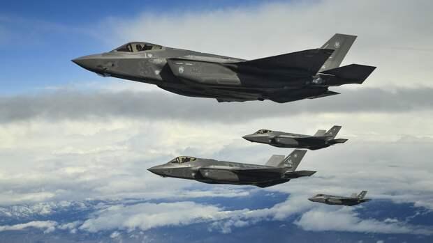 У сирийских границ впервые заметили израильские истребители F-35