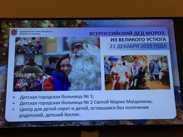 Дед Мороз поздравит детей в больницах и в Центре для сирот