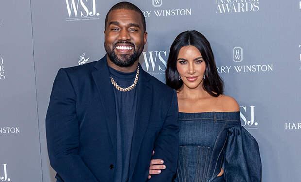 Канье Уэст признался, что последние два года пытается развестись с Ким Кардашьян