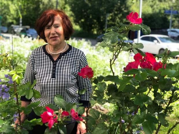 Названы авторы самых ярких цветников в Лианозове