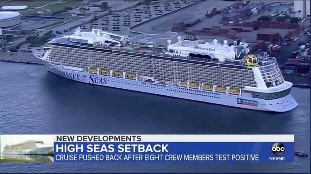 ABC News: в США не выпустили из порта круизный лайнер после выявления коронавируса у экипажа