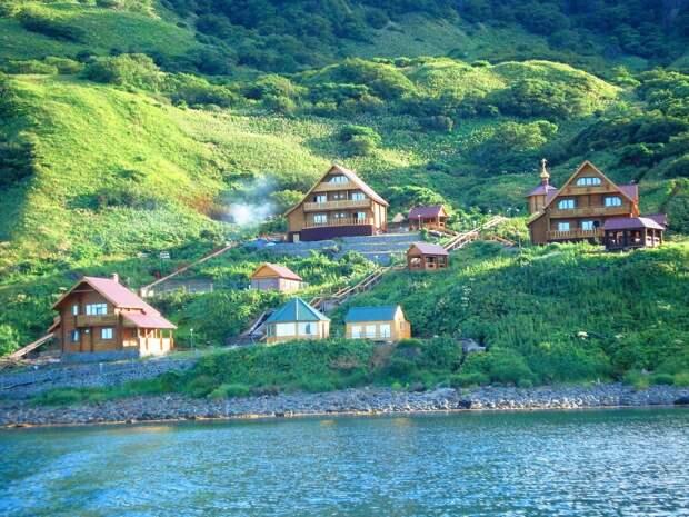 База отдыха на острове Монерон. Фото взято из открытых источников
