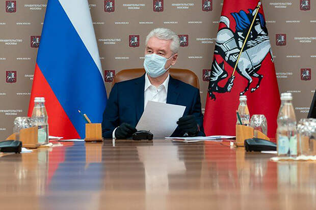 Собянин сделал прививку от коронавируса