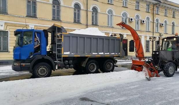 ВОренбурге испытали новый ротор для уборки снега, изобретенный вПереволоцком