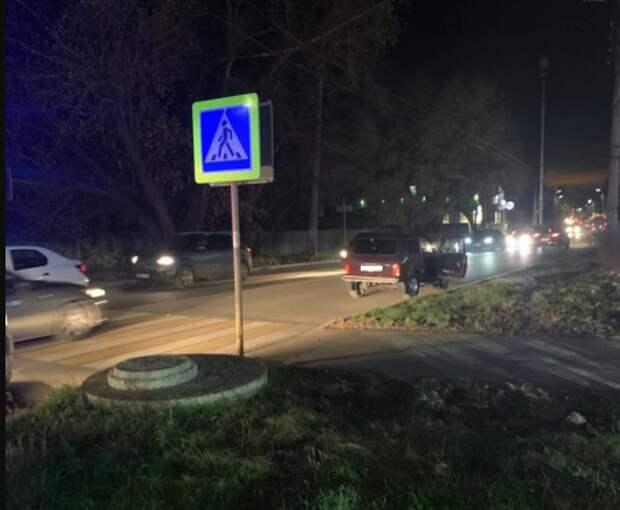 В центре Рязани ВАЗ сбил 8-летнего мальчика на пешеходном переходе