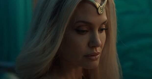 Вышел трейлер фильма «Вечные» с Анджелиной Джоли