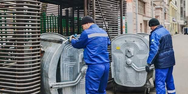 Мусорные контейнеры будут вывозить чаще