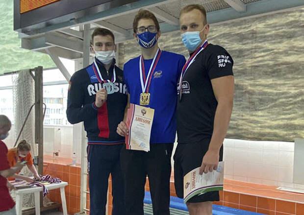 Обладателем четырех золотых медалей чемпионата России по подводному спорту стал рядовой спортивной роты ЦСКА, г. Санкт-Петербург