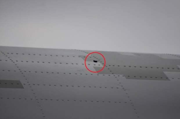 Украинский самолёт обстреляли из космоса