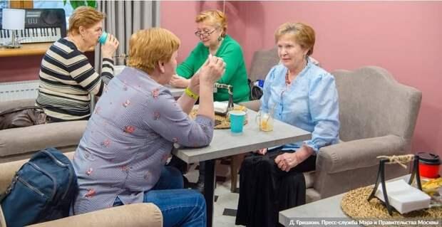 В Москве в домах престарелых не зафиксировано заболеваемости COVID-19. Фото: Д. Гришкин mos.ru
