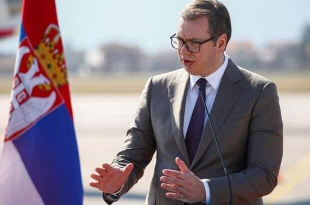 Вучич: Сербия не будет вводить санкции против Китая и России
