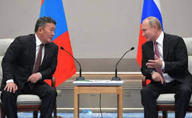 Лидеры России и Монголии о перспективах дальнейшего сотрудничества