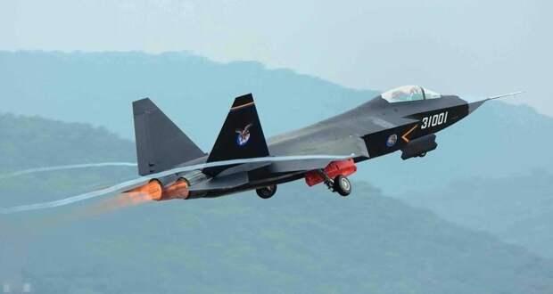 Китайцы испытают новый палубный истребитель