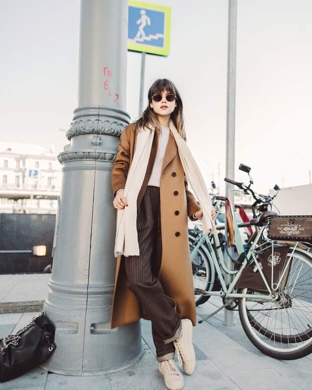 Пальто оверсайз 2021- идеальное решение для дам, которые любят примерять на себя трендовые предметы гардероба