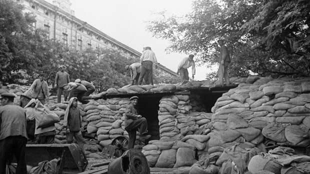 Минобороны России рассказало о героизме защитников Киева в 1941 году