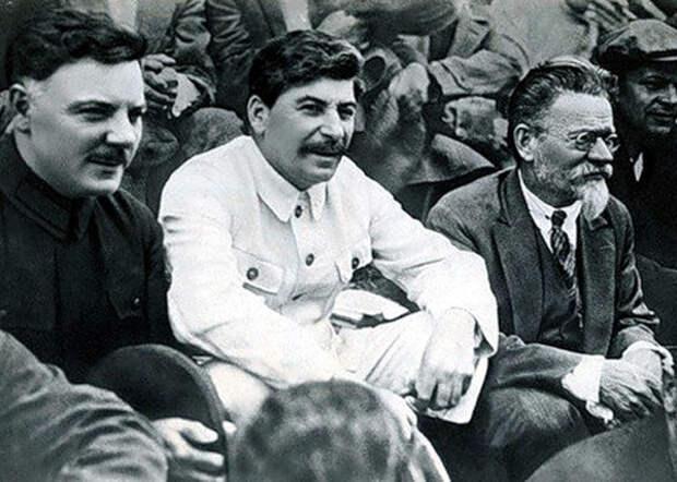 Ворошилов, Калинин, Сталин(2016) Фото: