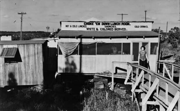 Столовая возле Бель-Глэйд, Флорида, январь 1939 г.