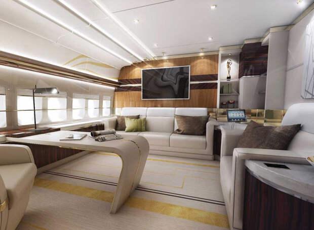 Boeing 747 VIP: летающий дворец