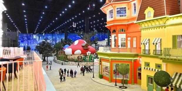 В первый день работы «Остров Мечты» посетили около 40 тыс гостей. Фото: mos.ru