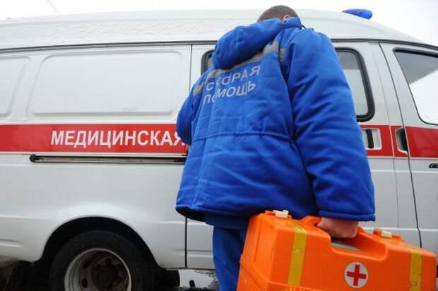 В Хабаровске перевернулся пассажирский автобус