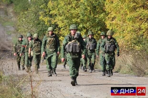 Резервистов ЛНР призвали на военные сборы