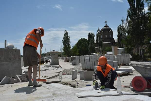 Реконструкцию набережной Терешковой в Евпатории планируют завершить в 2022 году