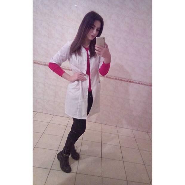 Встретить её можно в Сыктывкаре в больнице, красавицы, красотки, медицина, медсестра, медсёстры, первая помощь