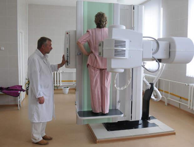 8. Передвижная флюорография отсутствие технологий, поликлиники, прошлый век