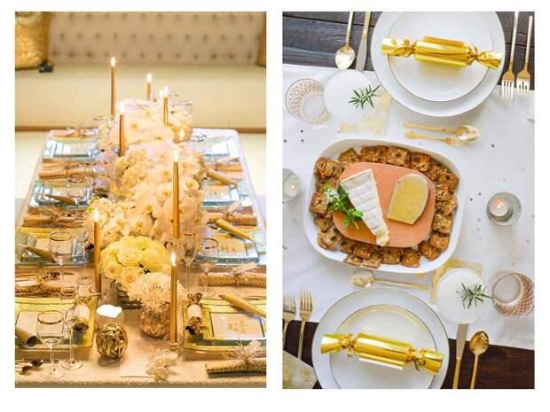 39 идей декора новогоднего стола