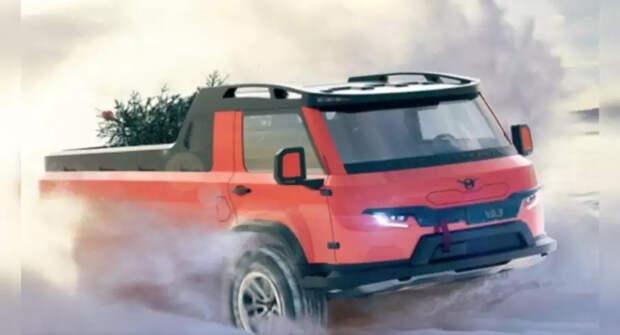 Ульяновский автозавод показал в сети изображения автомобиля УАЗ в будущем