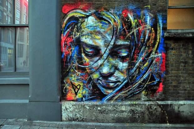 Примеры потрясающего стрит-арта отДэвида Уолкера