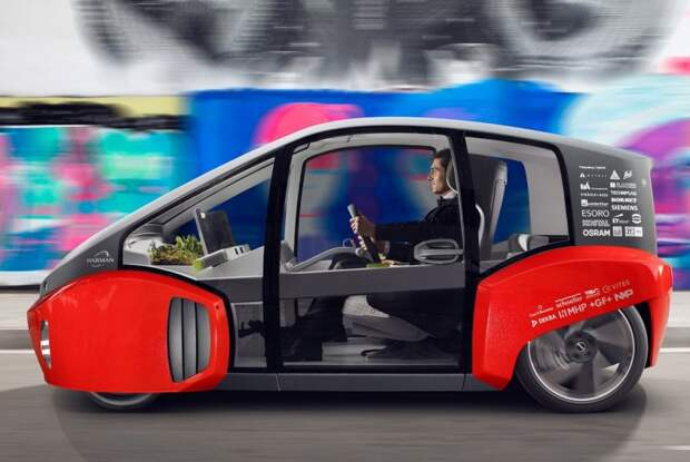 Rinspeed Oasis – автомобиль со встроенной теплицей Oasis, rinspeed, концепт, концепт-кар