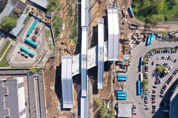 Станцию МЦД-2 «Щукинская» планируют открыть в июне