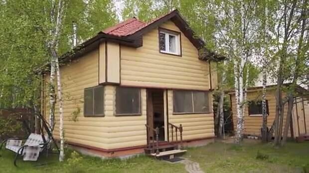 Наталья Варлей переехала жить в домик в лесу
