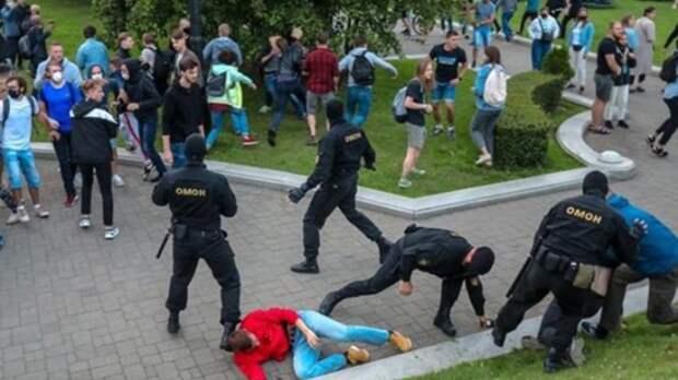 Вовремя акций протеста вБелоруссии задержали около 200 человек
