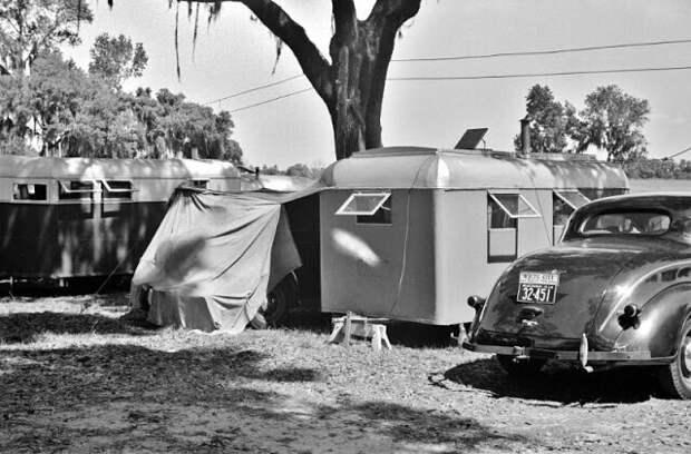 Туристический лагерь Дейд-Сити, Флорида, февраль 1939 г.