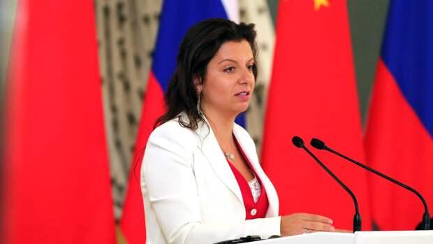 Симоньян объяснила жесткую риторику России по отношению к Западу
