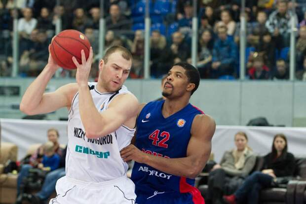 «Нижний Новгород» переиграл ЦСКА во втором четвертьфинальном матче Единой лиги ВТБ