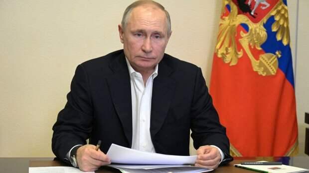 Президент России поручил проработать ужесточение правил оборота гражданского оружия